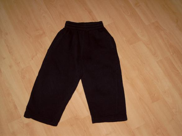 B146 Donkerblauwe joggingbroek Just Body mt 92